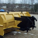 Wheel Loader Snow Plow