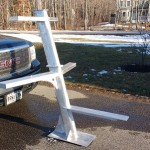 "Two-stage Antenna Mast 55""w x 60""h"