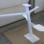 "36' x 58"" Antenna Mast (powder coated)"