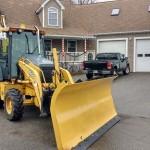 Backhoe Snow Plow