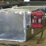 Custom size fuel transfer tank